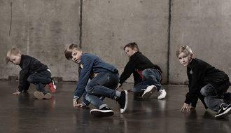 Breikkileikkikoulu lapset